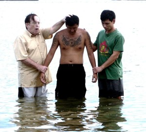 Ah Hin's Baptism