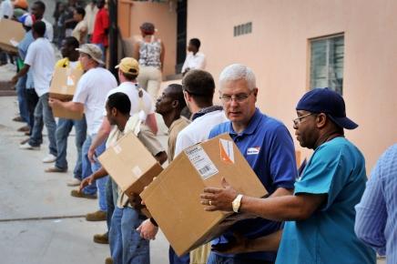 Haiti Earthquake - Peace and Hope Hospitals, Port au Prince / Haiti-Wo