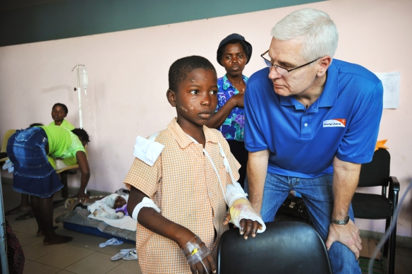 Haiti Earthquake - Peace and Hope Hospitals, Port au Prince / Haiti-Wo