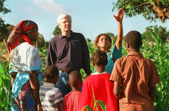 'Richard Stearns, Marty Lonsdale And Atul Tandon's Trip To Mozambique'
